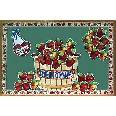 Teacher's Friend® Bulletin Board Set, Giant Apple Basket