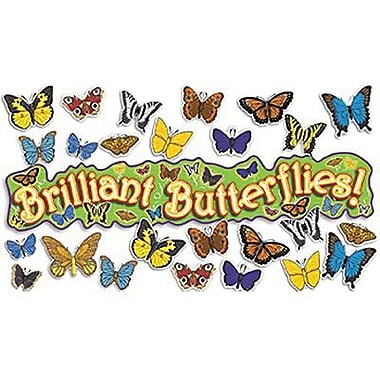 Teacher's Friend® Bulletin Board Set, 3-D Butterflies