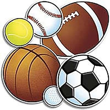Teacher's Friend® Accent Punch-Outs, Sport Balls