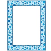 "Teacher's Friend® 11"" x 8 1/2"" Printer Paper, Polka Dots, Blue"