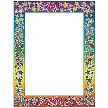 Teacher's Friend® 11in. x 8 1/2in. Printer Paper, Rainbow Stars