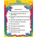 Teacher's Friend® Ten Commandments Biblical Chart