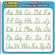 Teacher's Friend® Learning Stickers, Modern Manuscript Alphabet