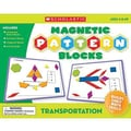 Teacher's Friend® Magnetic Pattern Blocks, Transportation