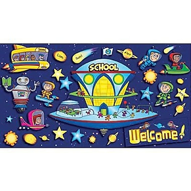 Teacher's Friend® Bulletin Board Set, Space School Welcome