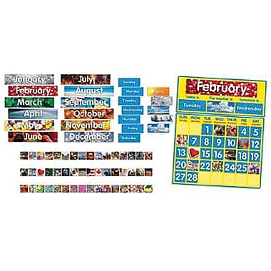 Teacher's Friend® Bulletin Board Set, Photo Calendar