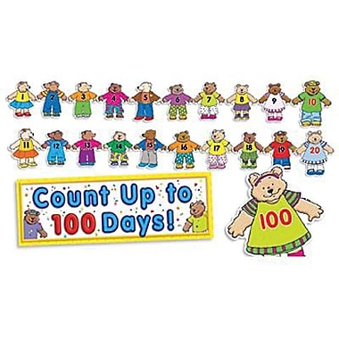 Teacher's Friend® Bulletin Board Set, 100th Day Counting Bears