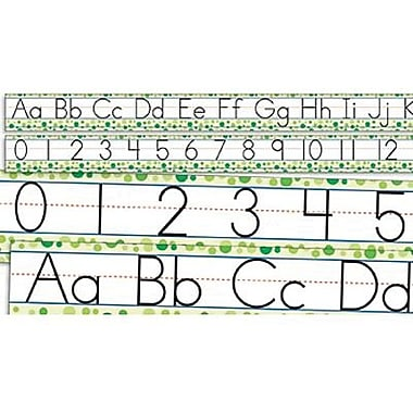 Teacher's Friend® Standard Manuscript Alphabet and Numbers 0-30 Bulletin Board, Grades Pre K - 3rd