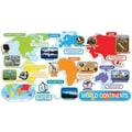 Teacher's Friend® Bulletin Board Set, World Continents