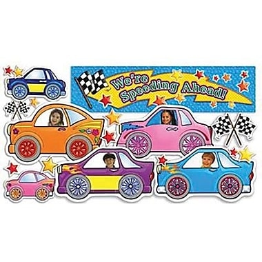 Teacher's Friend® Mini Bulletin Board Set, We're Speeding Ahead