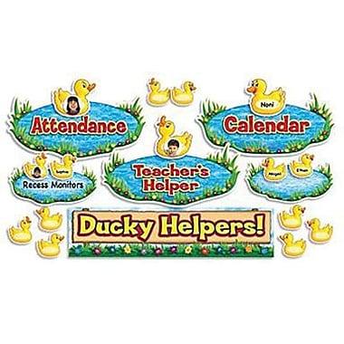 Teacher's Friend® Mini Bulletin Board Set, Ducky Helpers