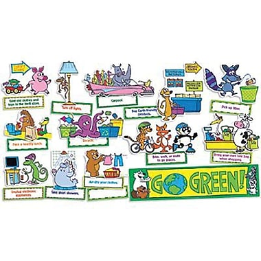 Teacher's Friend® Mini Bulletin Board Set, Go Green