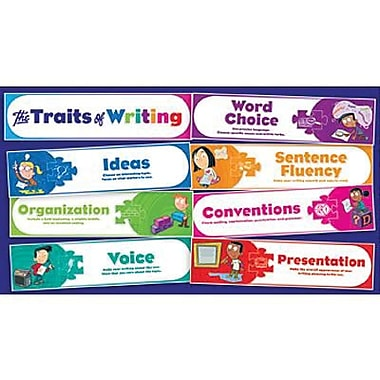 Teacher's Friend® Mini Bulletin Board Set, Traits of Writing