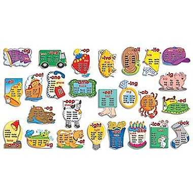 Teacher's Friend® Bulletin Board Set, Word Families Word Banks