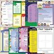Milliken & Lorenz Educational Press Four Square Writing Method Wall Chart