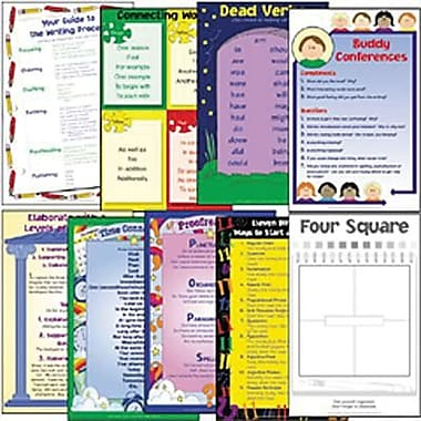 Milliken & Lorenz Educational Press Four Square Writing Method Wall Chart