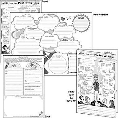 Milliken & Lorenz Educational Press® Poster Paper, Poetry Writing