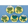 Melody House® 5-Character Speckled Frogs Mitt Set