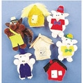 Melody House® 5-Character Three Little Pigs Mitt Set