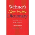 Houghton Mifflin® Websters New Pocket Dictionary, Grades 7th - 12th