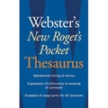 Houghton Mifflin® Websters New Roget's Pocket Thesaurus, Grades 7th - 12th