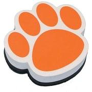 Ashley® Magnetic Whiteboard Eraser, Orange Paw