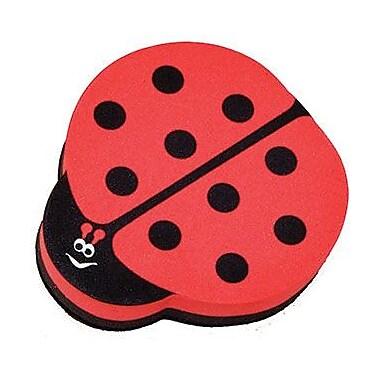 Ashley® Magnetic Whiteboard Eraser, Red Ladybug