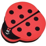 Ashley® Magnetic Whiteboard Eraser, Red Ladybug