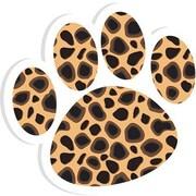 Ashley® Magnetic Whiteboard Eraser, Cheetah Paw
