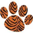 Ashley® Magnet Clip, Tiger Paw