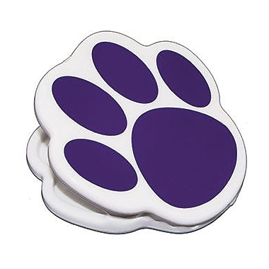 Ashley® Magnet Clip, Purple Paw