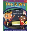 ECS Learning Systems The 5 W's Primary Reading Skills Spanish Book, Grades 1st - 3rd