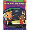 ECS Learning Systems Main Idea & Details Spanish Book, Grades 1st - 3rd