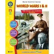 Classroom Complete Press® World Wars I & II Book, Grades 5th - 8th