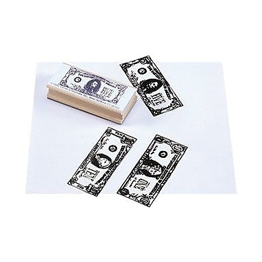 Center Enterprises® $1, $5, $10 Bills Stamp Kit, Fronts, Grades 1st - 4th
