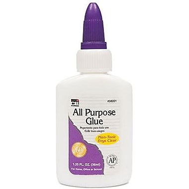 Charles Leonard® All Purpose Clear Glue, 1.25 oz., 24 Pack