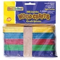 Chenille Craft® Bright Hues Jumbo Craft Sticks
