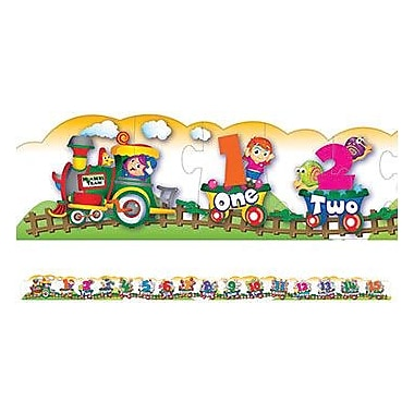 Chenille Craft® Floor Puzzle, Number Train