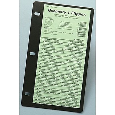 Christopher Lee Publications Geometry 1 Flip Up Study Guide