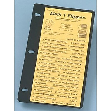 Christopher Lee Publications Math 1 Flipper Study Guide