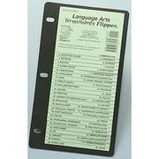 Christopher Lee Publications Language Arts Terminology Flipper Study Guide