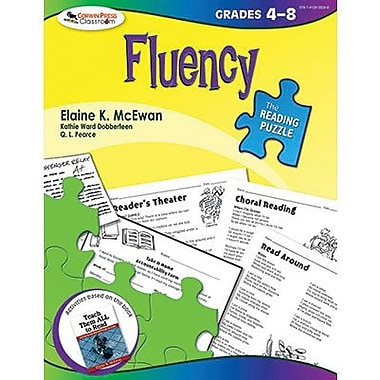 Corwin The Reading Puzzle Fluency Book, Grades 4th - 8th