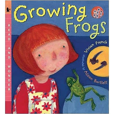 Candlewick Press Growing Frogs Big (Paperback) Book