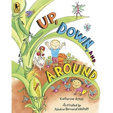 Candlewick Press Up, Down, and Around Big (Paperback) Book