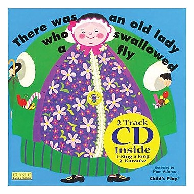 Childs Play® Old Lady Who Swallowed a Fly Book With CD