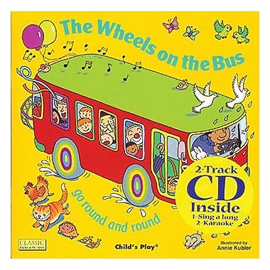 Childs Play® The Wheels On The Bus Book With CD
