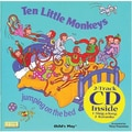 Childs Play® Ten Little Monkeys Book With CD
