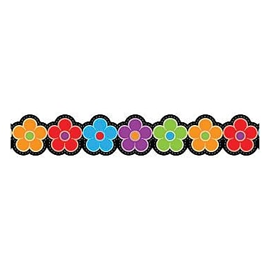 Creative Teaching Press™ preschool - 12th Grades Bulletin Board Border, Posies
