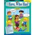 Creative Teaching Press™ I Have, Who Has? Math Activity Book, Grades Kindergarten