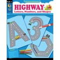 Creative Teaching Press™ Highway Letters, Numbers and Shapes, Grades Pre Kindergarten - 1